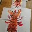 7月29日教室風景+子どもの絵について
