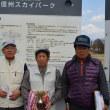 塩尻体協マレットゴルフ4月月例会の3位表彰