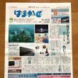 長島敏春写真展「逗子のサンゴ」がはまかぜ新聞1面に掲載