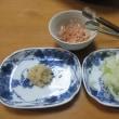 大根餅☆鶏肉と長ねぎの塩炒め