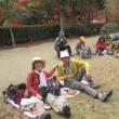 12 大原山・宗箇山(244・356m:西区)登山  宴席の前半部