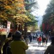 日光山内の紅葉
