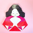 折り紙お雛様の折り方の作り方 創作
