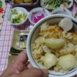 御祈とう米で里芋ご飯