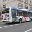 下津井電鉄のバスを撮影