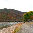 2017 京都の紅葉 嵐山渡月橋
