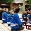 神酒(みき)披露目 (神明神社)