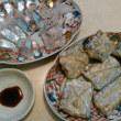 【食】タチウオの刺身・炙り・塩焼き
