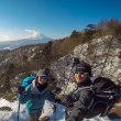 PENTAX KP持って雪山登山へ