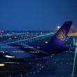 B747-8&A380共演!@関空