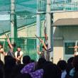 娘の学校の文化祭 和太鼓の演奏