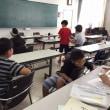 夏休み 子供ペン習字教室