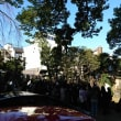 流星忌「箱館戦争関係者慰霊祭in谷中」終了しました