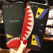 iPhone7ケース クラシック 浮彫 立体感 耐汚れ 耐衝撃 イキイキとした キズ防止 シャーク