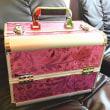 新しいメイクボックス買ったけど・・・おばさんにはカワイ過ぎた(;・∀・)