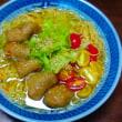 菜食醤油ラーメン作る❗