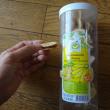 タマリンド挟みバナナチップ