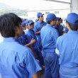 内浦で海面養殖業者のお話し