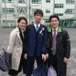 次男の卒業式