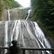 日本三名瀑の一つ「袋田の滝」がライトアップされ美しい!!