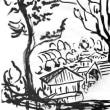 朝日記171109 ヤスパースの責罪論のAmasonレビューと今日の絵