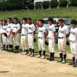 少年野球の引退式