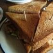 キューバのサンドィッチを初めて食す@Cantina23