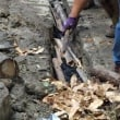 里山で自然排水の作り方を学ぶ〜土砂災害を予防するには