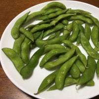 カキフライ&枝豆