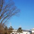 和風青空、春の風。