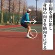 ■フォアハンドストローク 深いボールに対するボールの入り方(フォアハンド) 〜才能がない人でも上達できるテニスブログ〜