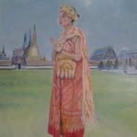 タイの民族衣装を着た女01・・・・久々の投稿その2