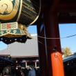 浅草寺の羽子板市 「いまどきの羽子板市は浴衣着て」