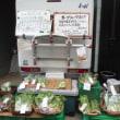 3月19日の朝市は小松菜・ホウレン草等8時で完売