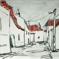 1525.ヴィラ・ド・ビスポの町角