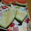 由紀子がスイカを食すると!