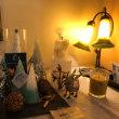 本堂美智子さんの   Candle   Garden  展示してます。