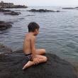 家族で海へGO