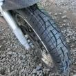 タイヤを替えたよ