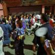 百島の盆踊り 春駒。