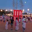月夜・納涼 「盆踊り」 の輪に入る・・・