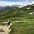 念願の北アルプス双六岳へ その2 槍・穂高を背に双六岳への登頂を果たす
