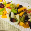 切るだけ、秋のフルーツサラダ