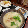 街かど屋 期間限定関西地区限定 「かす汁定食」