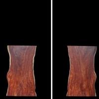 【無垢一枚板・新天板報告】 マホガニー の 天板 ( 一枚板 )を掲載いたしました。【MH-3B-9795-H1】