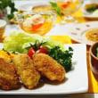 ♪かきフライ&ゴロゴロ野菜のポトフ♪