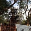 遺跡の修理