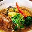 ヘルシーなゴロゴロ野菜&豚角煮のスープカレー!@川口駅東口の「スープカレーガブリ」!