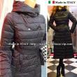 イタリア製インポート ロングコート。赤/黒/グレー ひざ丈〜ひざ下 カッコいいデザイン。リナシメント