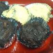 白米ご飯で、「小さいぼた餅」とリメイクカレー作りました。